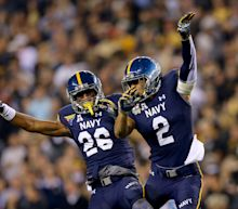 Navy to wear gold helmets vs. Army (Photos)