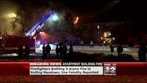 1 Dead In Rolling Meadows Apartment Building Fire