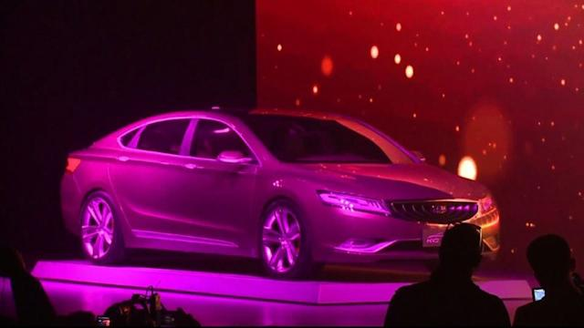 Global auto makers flock to the Shanghai auto show