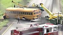 Investigation continues into Langhorne bus crash
