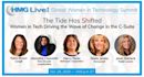 CIO Leadership: World-Class Female Technology Executives Discuss Success, Leadership at HMG Strategy?s Upcoming 2020 HMG Live! Global Women in Technology Summit
