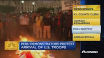 CNBC update: Peru protests