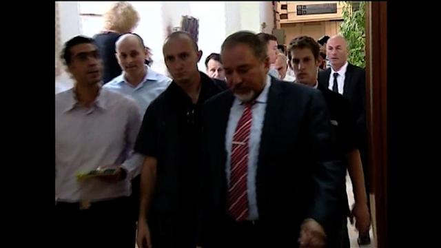 Israel's Lieberman takes stand in graft trial