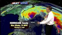 Updated Hurricane Sandy Forecast