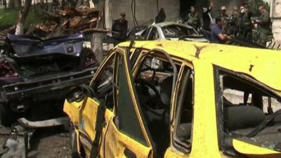 Raw: Deadly Car Bomb Rocks Damascus