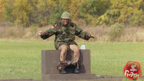 Canadian Army Tank Gun Goes Off, Seducing Burp, Pyramid Photo Fail