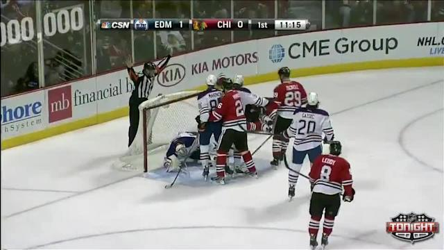 Edmonton Oilers at Chicago Blackhawks - 01/12/2014