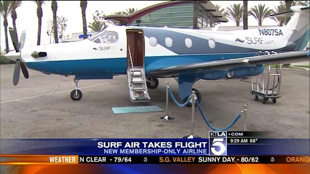 Surf Air Launches Unlimited Flights to Bay Area