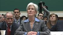 Sebelius Caught on Hot Mic: 'Don't Do This to Me'