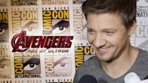 "Jeremy Renner ""Avengers: Age of Ultron"" Interview - Comic-Con 2014"