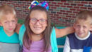9-Year-Old Indiana Girl Dies Shielding Twin Brothers From Oncoming Car