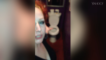 Woman uncovers two-way mirror in a bar bathroom