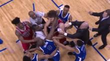 Robin Lopez and Serge Ibaka gave us worst NBA fight in 10 years, but it could have been worse