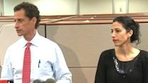 Anthony Weiner and Wife, Huma Abedin, Address the Public