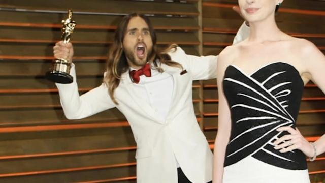 Stars shine on at Vanity Fair Oscar party