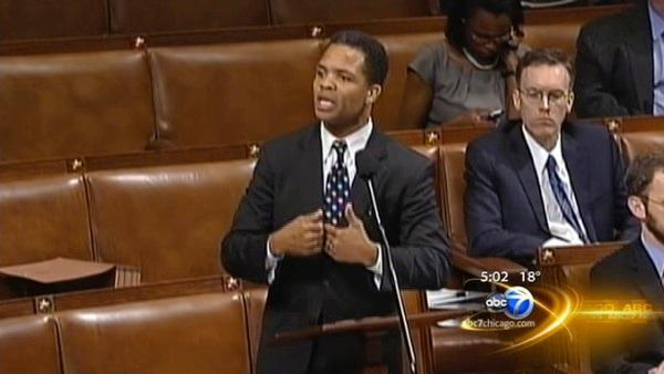 Jackson family supports Jesse Jr.