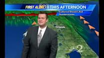 Saturday Outlook: Cloudy & Warmer, Showers & Storms