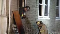 Ardmore home damaged in overnight fire