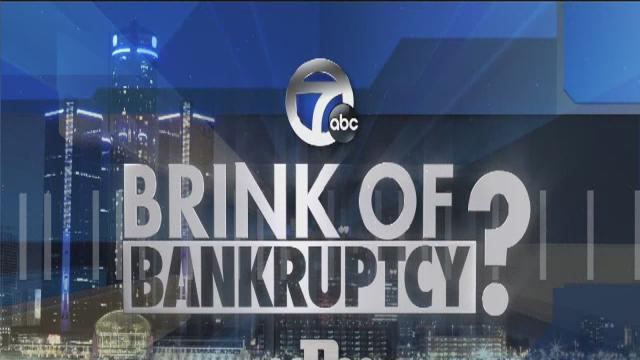 Nolan Finley and Stephen Henderson on Detroit Bankruptcy
