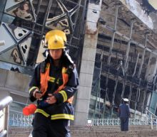 Shanghai Shenhua's home stadium catches fire