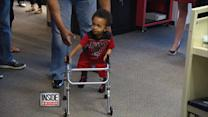 Toddler Proclaims 'I Got It' In First Steps With Prosthetics