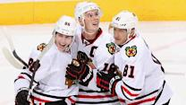 Blackhawks' stars setting tempo