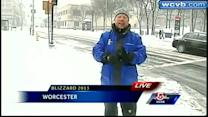 Buses pulled from Worcester roads early due to Blizzard