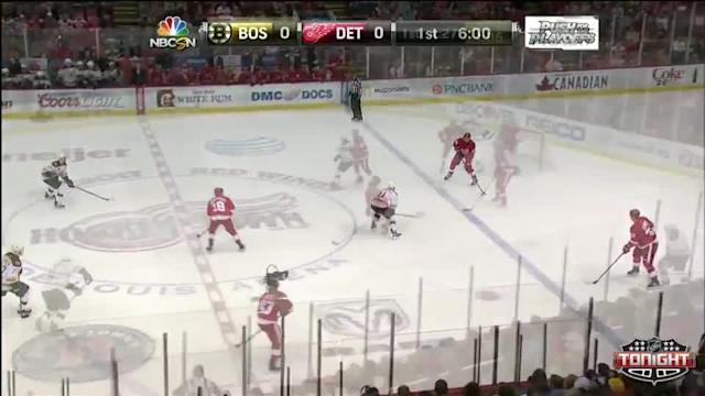 Boston Bruins at Detroit Red Wings - 04/02/2014