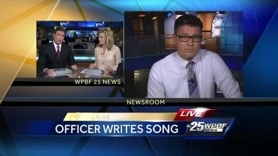 Local cop writes song to honor 8-year-old Boston Marathon bombing victim