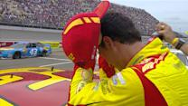 Logano: \x{2018}One too many restarts'