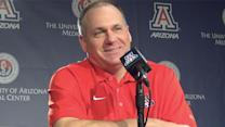 Rich Rodriguez talks ASU