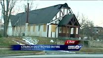 Church plans Sunday services after fire
