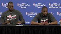 Postgame: LeBron and Wade