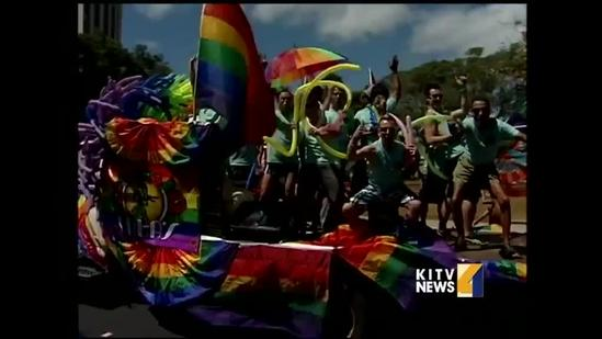 Hundreds show up for Honolulu Pride Parade