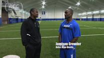 UNC Legend Dre Bly Catches Up With Duke WR Jamison Crowder