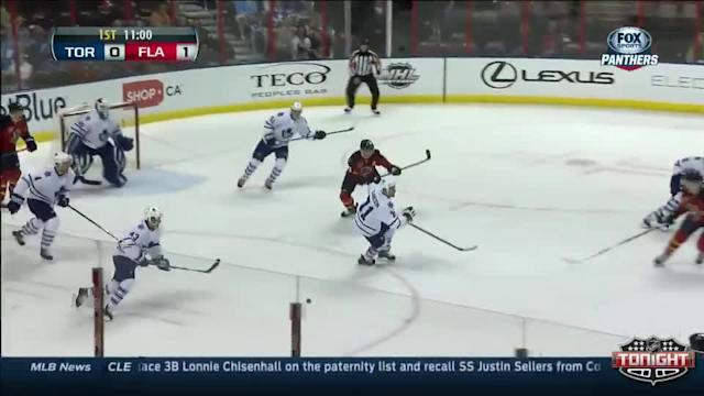 Toronto Maple Leafs at Florida Panthers - 04/10/2014