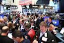 US stocks open holiday week on upbeat note