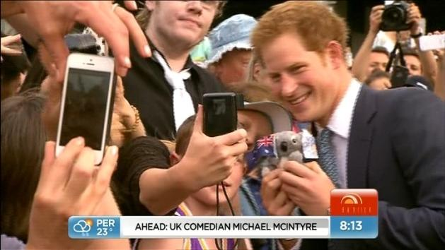 Busy schedule for Prince Harry
