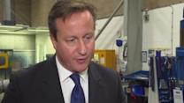 "UK's Cameron ""nervous"" ahead of Scotland referendum"