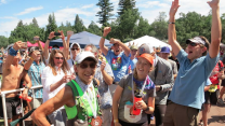 70-year old finishes Ultramarathon