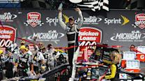 Johnson celebrates third win of the season