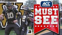 Wake Forest WR Michael Campanaro Throws TD to QB Tanner Price | ACC Must See Moment