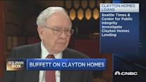 Buffett: Clayton Homes' loan policy