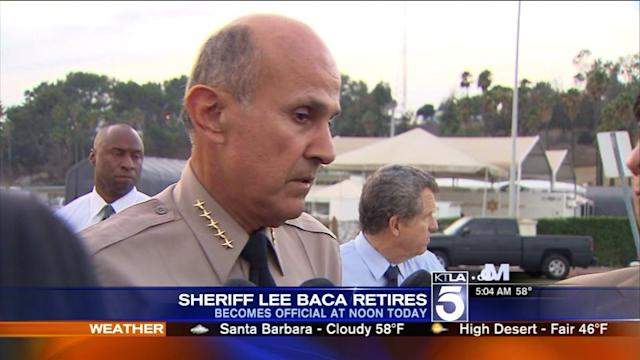 Lee Baca`s Last Day as Los Angeles County Sheriff