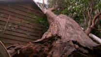 Strong winds damages homes in Australia
