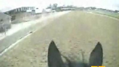 From The Archives: See The Track From The Jockey Cam