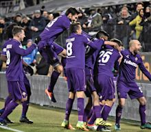 Juventus' lead cut to 1 point after 2-1 loss at Fiorentina