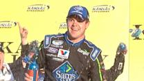 Victory Lane: Ricky Stenhouse Jr.