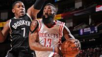Nets vs. Rockets
