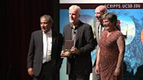 James Cameron Awarded For Contributions To Science.